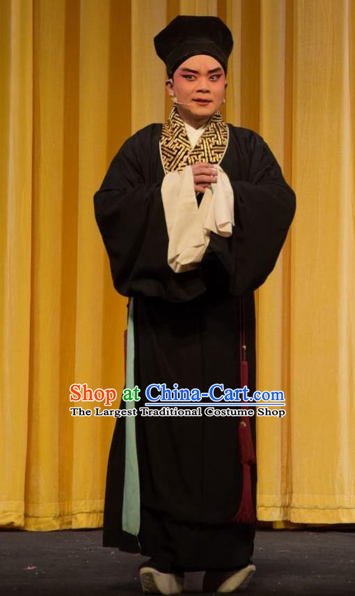 Fifteen Strings of Cash Chinese Shanxi Opera Niche Apparels Costumes and Headpieces Traditional Jin Opera Young Male Garment Xiaosheng Clothing