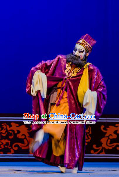 Xian Jie Bian Chinese Hubei Hanchu Opera Drunken Man Apparels Costumes and Headpieces Traditional Han Opera Martial Male Garment Thief Clothing