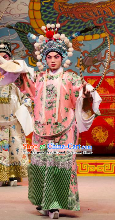 The Princess in Distress Chinese Guangdong Opera Prince Apparels Costumes and Headpieces Traditional Cantonese Opera Xiaosheng Garment Noble Childe Clothing