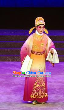 Story of the Violet Hairpin Chinese Guangdong Opera Li Yi Apparels Costumes and Headpieces Traditional Cantonese Opera Young Male Garment Noble Childe Clothing