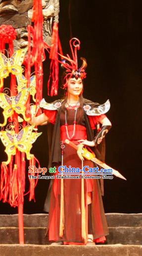 Chinese Historical Drama Princess Hu Die Ancient Swordswoman Sha Yao Garment Costumes Traditional Ethnic Girl Dance Dress Apparels and Headdress