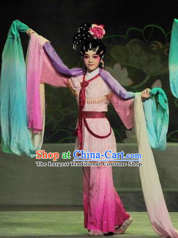 Chinese Ancient Dance Lady Garment Three Kingdoms Period Court Maid Costumes and Headdress Traditional Fairy Dress Apparels