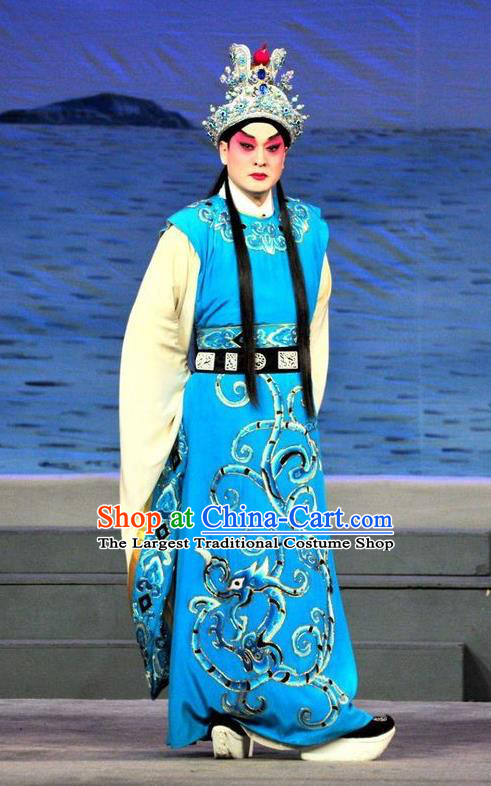 Chinese Three Kingdoms Period Noble Childe Apparels Costumes and Headwear Traditional Ancient Prince Garment Cao Zhi Clothing