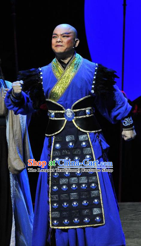 Chinese Traditional Swordsman Apparels Costumes Historical Drama Lv Zhu Nv Chuan Qi Ancient Knight Garment Warrior Clothing