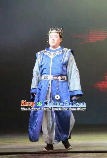 Chinese Traditional Song Dynasty Imperial Bodyguard Clothing Stage Performance Historical Drama Da Song Yu Shi Apparels Costumes Ancient Official Garment and Headwear