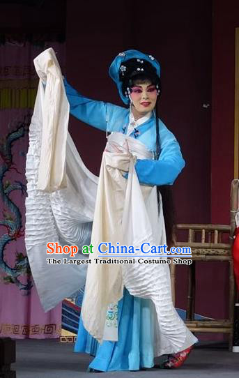 Chinese Sichuan Opera Highlights Actress Liu Chunhua Garment Costumes and Headdress Chun Hua Zou Xue Traditional Peking Opera Diva Dress Hua Tan Apparels