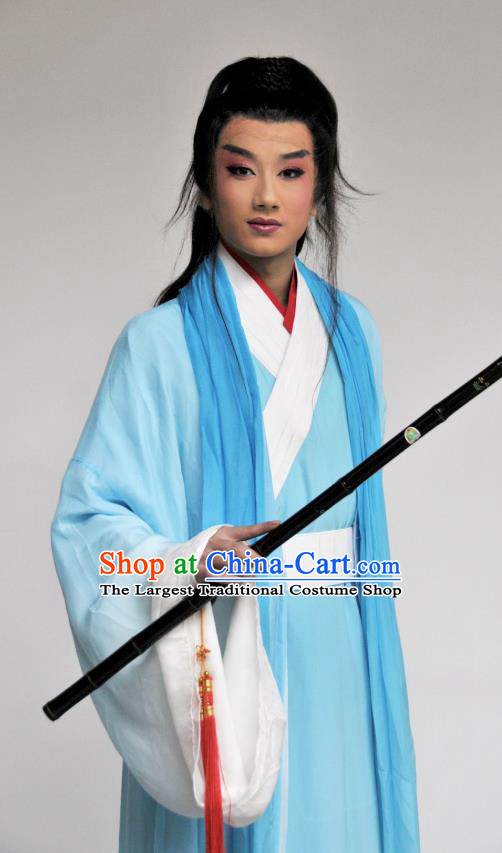 Princess Turandot Chinese Sichuan Opera Swordsman Apparels Costumes and Headpieces Peking Opera Highlights Young Male Garment Clothing