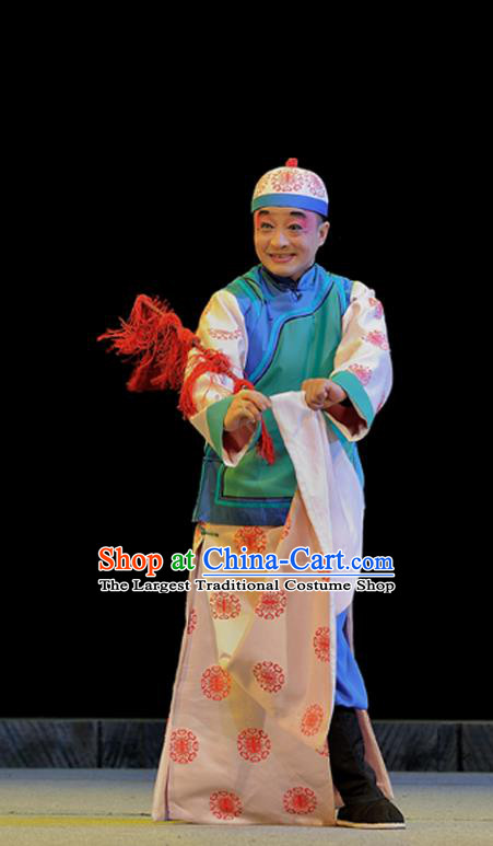 Legend of Chen Mapo Chinese Sichuan Opera Childe Mei Ziqing Apparels Costumes and Headpieces Peking Opera Highlights Garment Young Male Clothing