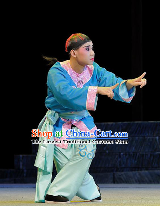 Legend of Chen Mapo Chinese Sichuan Opera Servant Apparels Costumes and Headpieces Peking Opera Highlights Garment Livehand Mei Zhuozhuo Clothing
