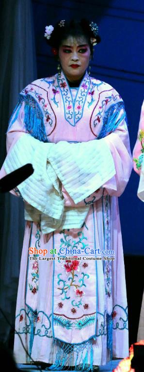 Chinese Sichuan Opera Highlights Servant Girl Garment Costumes and Headdress Traditional Peking Opera Maid Lady Ping Er Dress Apparels