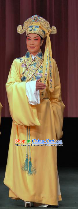 The Romance of Hairpin Chinese Sichuan Opera Xiaosheng Apparels Costumes and Headpieces Peking Opera Highlights Young Man Garment Niche Wang Shipeng Clothing