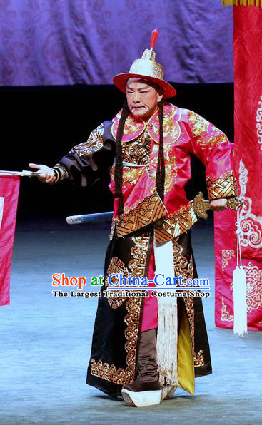 Gui Men Chinese Sichuan Opera General Apparels Costumes and Headpieces Peking Opera Highlights Martial Male Garment Clothing
