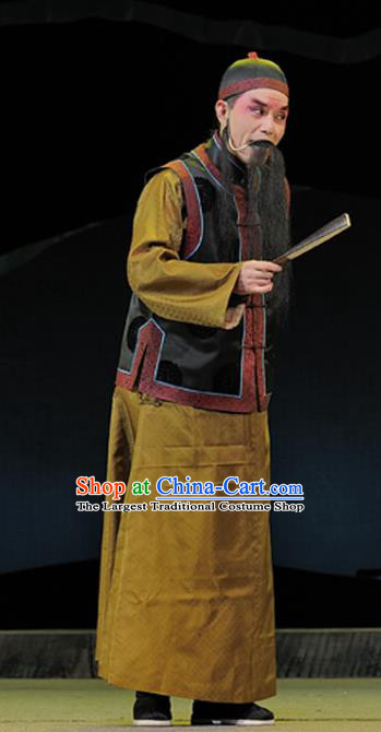 Legend of Chen Mapo Chinese Sichuan Opera Boss Apparels Costumes and Headpieces Peking Opera Highlights Garment Laosheng Clothing