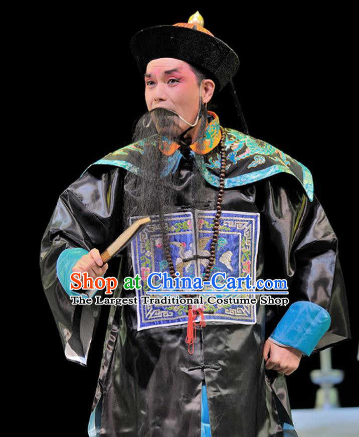 Legend of Chen Mapo Chinese Sichuan Opera Official Apparels Costumes and Headpieces Peking Opera Highlights Minister Garment Clothing