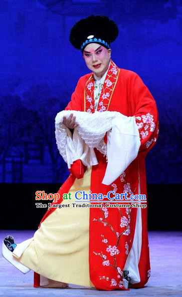 Zhen Zhu Shan Chinese Bangzi Opera Merchant Jiang Xing Apparels Costumes and Headpieces Traditional Hebei Clapper Opera Young Male Garment Clothing