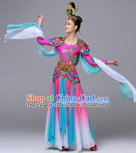 Traditional Chinese Classical Dance Outfits Dunhuang Flying Apsaras Dance Dress Umbrella Dance Stage Performance Costume for Women