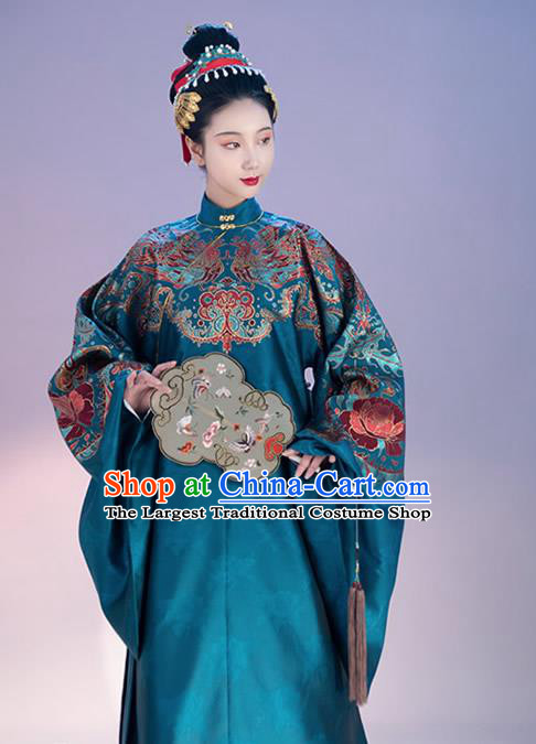 China Traditional Ming Dynasty Court Beauty Historical Clothing Ancient Imperial Consort Costumes Complete Set