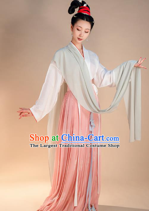 Traditional China Song Dynasty Court Lady Clothing Ancient Royal Princess Historical Costumes