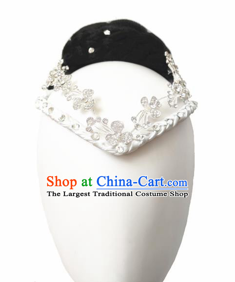 Traditional China Fan Dance Wig Chignon Classical Dance Hair Accessories