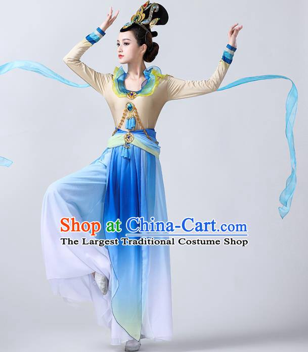 China Spring Festival Gala Dance Stage Performance Outfits Traditional Flying Apsaras Dance Costume Classical Dance Clothing