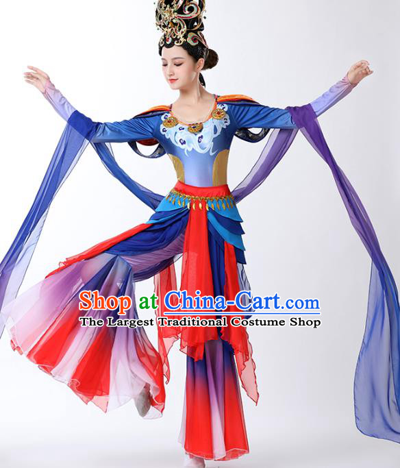 China Classical Dance Clothing Spring Festival Gala Dance Outfits Traditional Flying Apsaras Stage Performance Costume