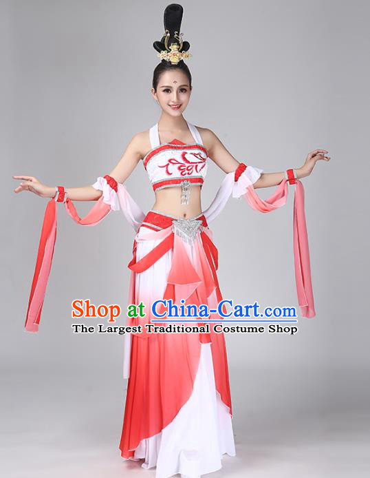 China Traditional Goddess Dance Dress Classical Dance Flying Apsaras Dance Costume