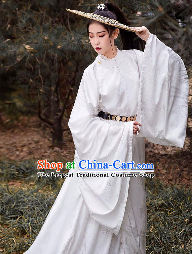 China Traditional Ming Dynasty Swordsman Hanfu Clothing Ancient Nobility Childe Costumes