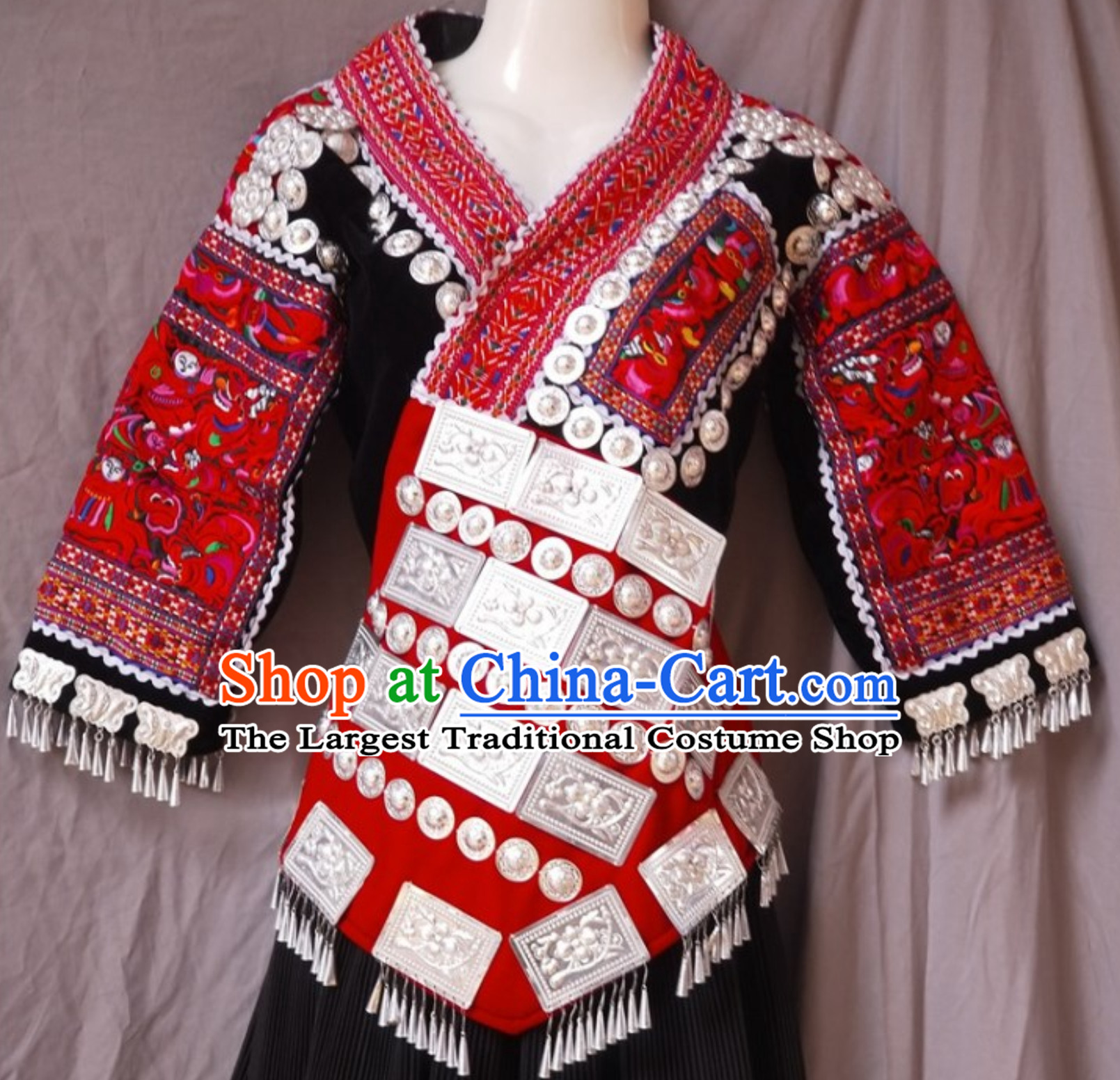 Chinese Traditional Miao Garment