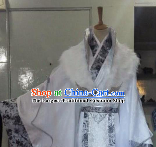 Chinese Drama Cosplay Nobility Childe Apparels Jin Dynasty Prince Garment Costumes Ancient Royal Highness Hanfu Clothing